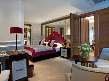 Hotel Monchstein- Bedroom