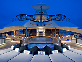 96m Superyacht- Exterior Pool