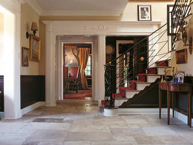 Beverly Hills-Entrance Hall And Staircase