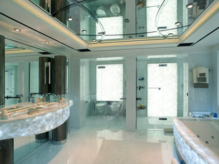 Owners Bathroom 96 Meter Super Yacht