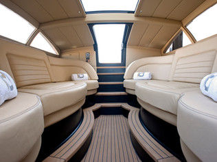 Tender Interior - 96m Superyacht