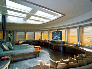 Owners State Bedroom 96 Meter Super Yacht