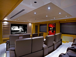90m Superyacht- Cinema
