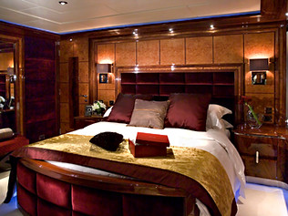 65 Meter Superyacht- Guest Bedroom