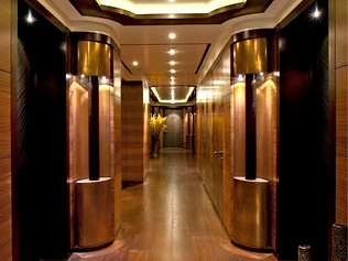 96 Meter Superyacht- Entrance Lobby