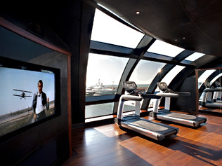 96 Meter Superyacht- Gym