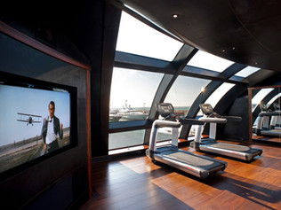 Gym 96 Meter Super Yacht