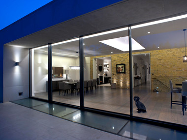 Chelsea Town House-Full Glass Extension