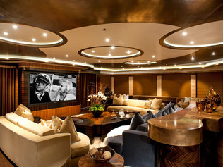 Main Saloon 96 Meter Super Yacht
