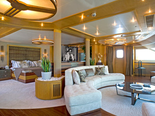 State Bedroom 85 Meter Super Yacht