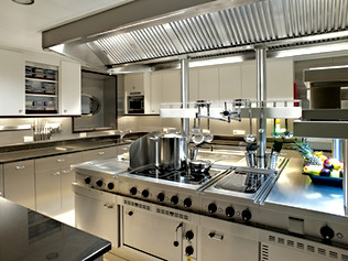 85 Meter Superyacht- Galley
