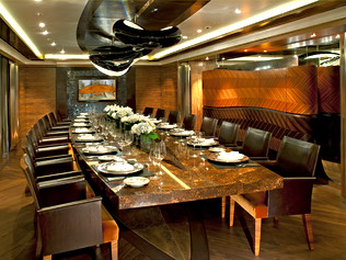 96m Superyacht- Dinning Room