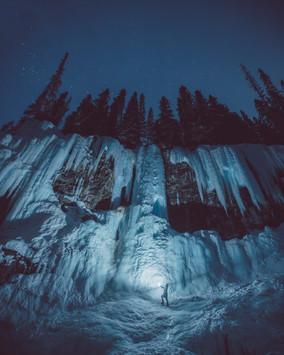 Johnston Canyon Night