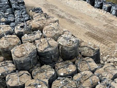 耐候性大型土のう 大量設置報告