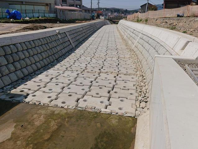 河川コンクリート製品