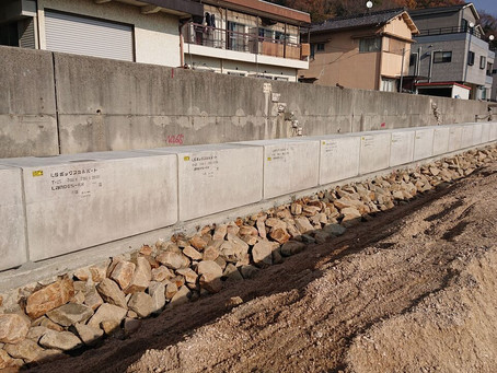 国道487号線道路改良工事 ハレーサルトボックスカルバート施工完了