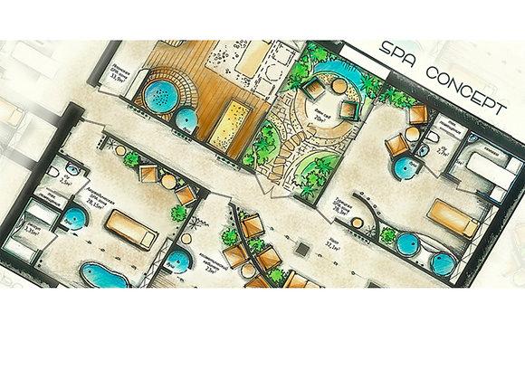 Проектирование хамамов, саун и СПА-пространств