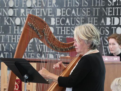 Harpist Shana Norton