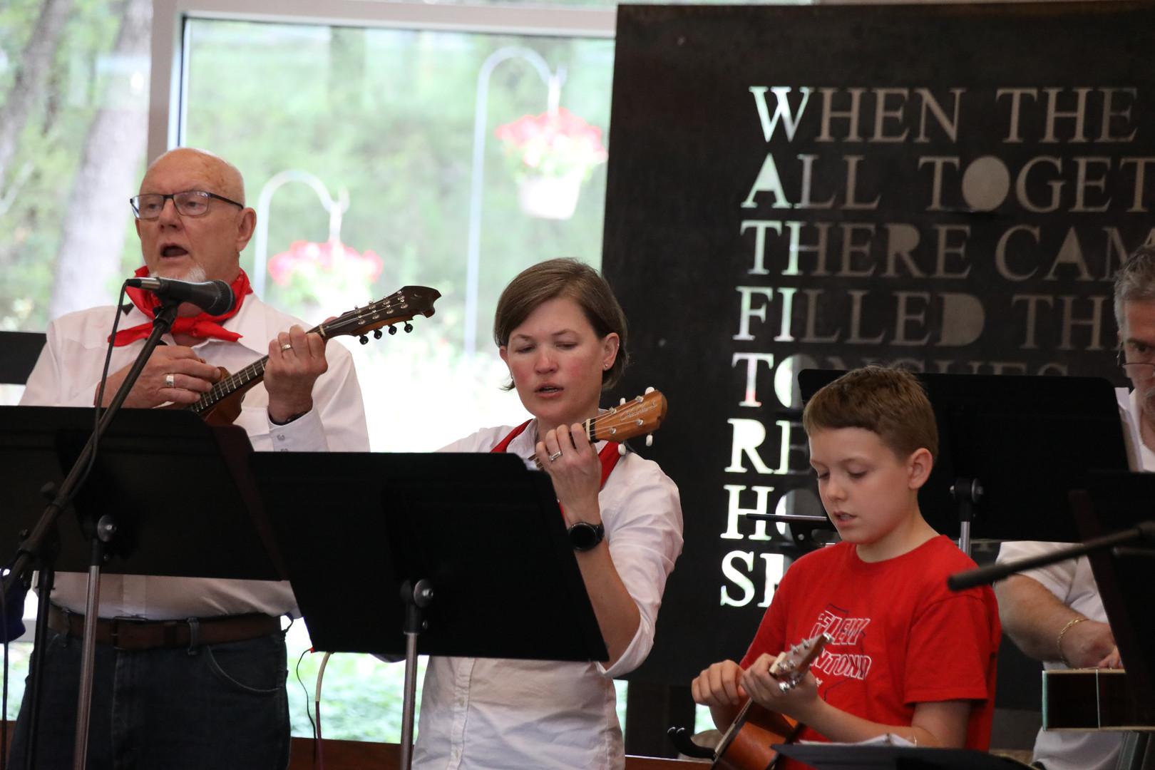 Pentacost Bluegrass Mass