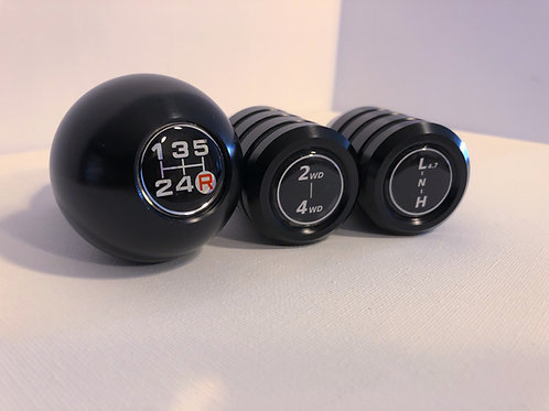 5-Speed + Dual Stick T-case Shifter Set Pre-Order
