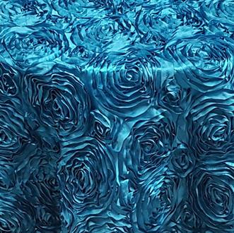 blue rossette