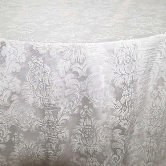 Pearl Floral Print Overlay