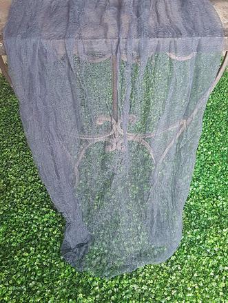 Slate Blue Cheesecloth