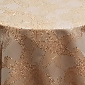 Champagne Floral Reef Jacquard