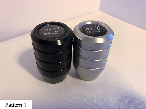 Transfer Case Shifter - Anodized Aluminum