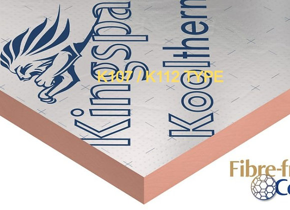 Delivery Only KOOLTHERM 40/45mm 1.2x2.4 Foil Foil