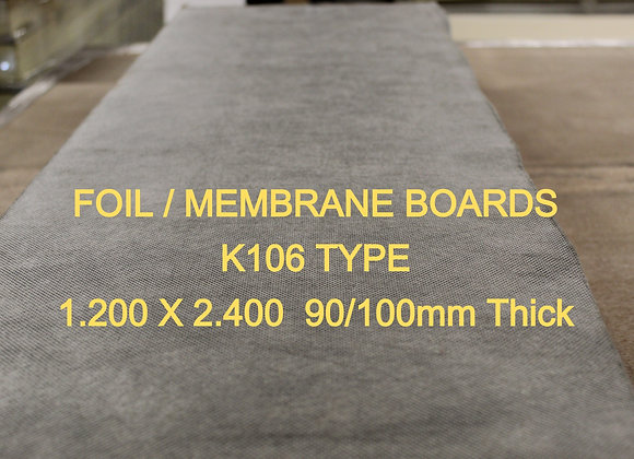 KOOLTHERM 90/100mm Foil/ Membrane 1.2 x 2.4 sheets delivery