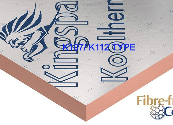 Delivery Only KOOLTHERM  70/80mm 1.2x2.4 Foil Foil