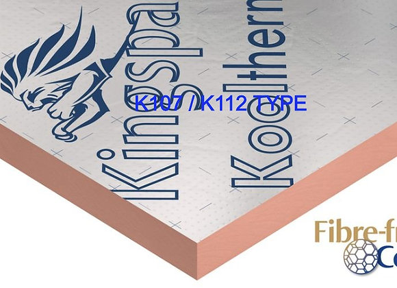 Delivery Only KOOLTHERM   90/100mm 1.2x2.4 Foil Foil