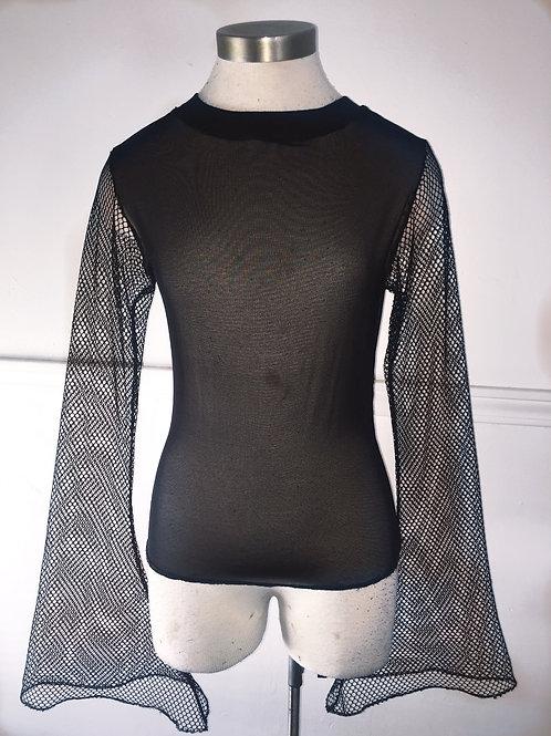 Net and Mesh Shirt