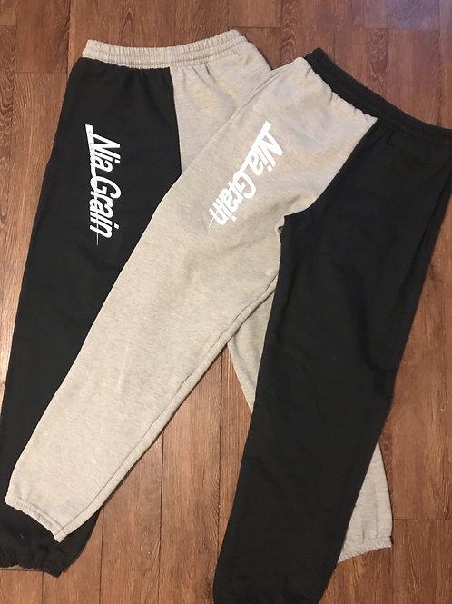 Brand Split Sweatpants