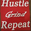 Thumbnail: Hustle Grind Repeat Statement Tee