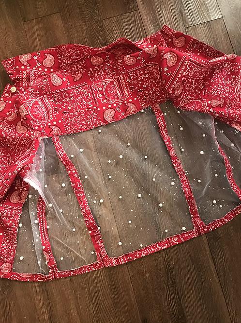 Bandanna Illusion Jacket