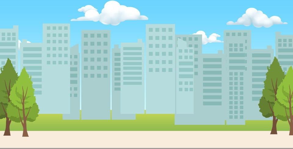 pngtree-fresh-cartoon-cute-city-silhouet