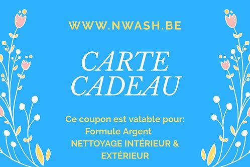 CHÈQUE CADEAU : FORMULE ARGENT