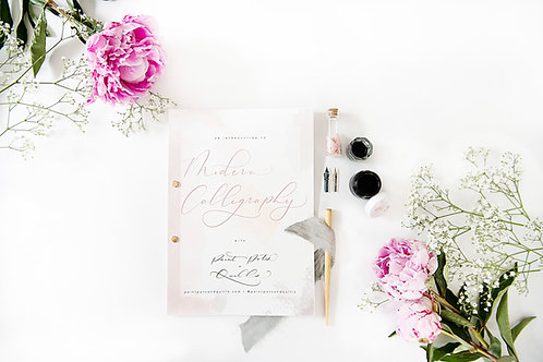 Beginners: Modern Calligraphy Kit + Online Workshop