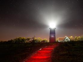 Nauset Night Light, Cape Cod National Seashore, Massachusetts