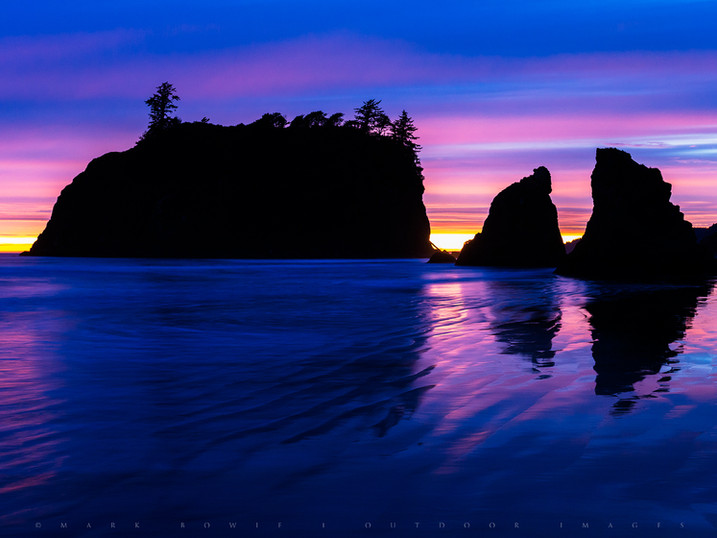 In the Wet, Ruby Beach, Olympic National Park, Washington