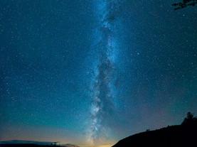 Milky Way Panorama, Moss Lake, Adirondacks, New York