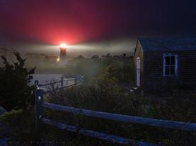 Nauset Light & Shack, Cape Cod National Seashore, Massachusetts