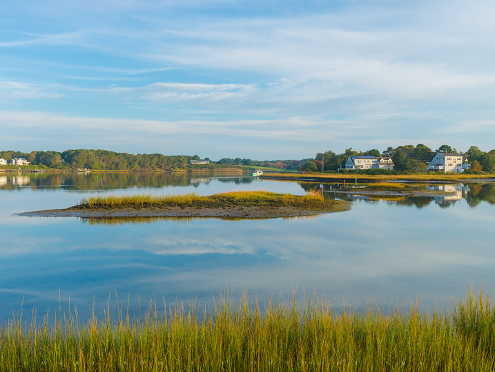 Subtle Morning, Bass River, West Yarmouth, Cape Cod, Massachusetts