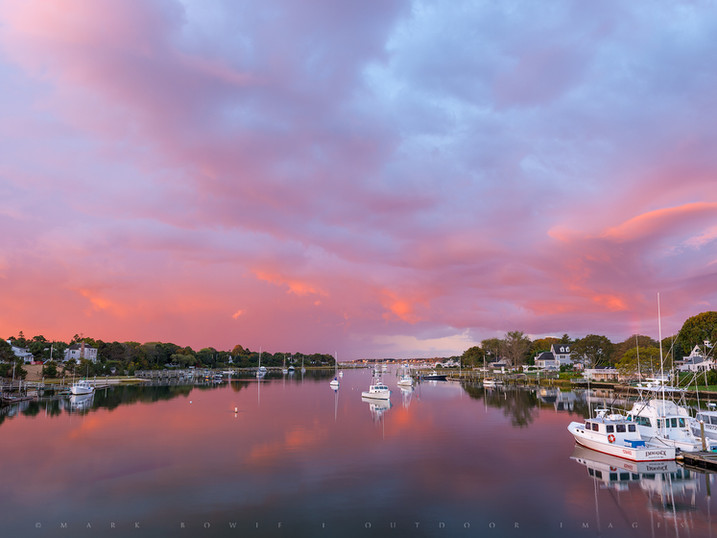 Rain Light, Bass River, West Yarmouth, Cape Cod, Massachusetts