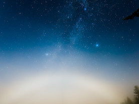Moonbow & Milky Way, Moss Lake, Adirondacks, New York