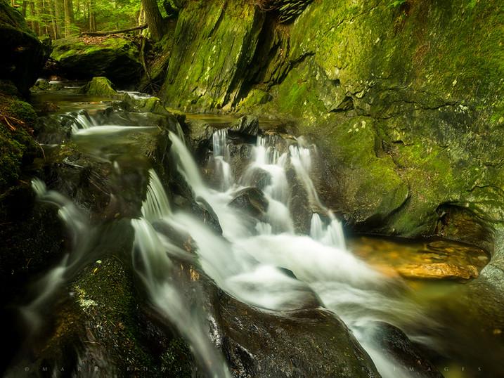 Gorge Riffles, Tannery Brook, The Berkshires, Massachusetts