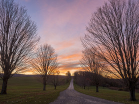 The Road to Sunrise, Lanesborough, The Berkshires, Massachusetts