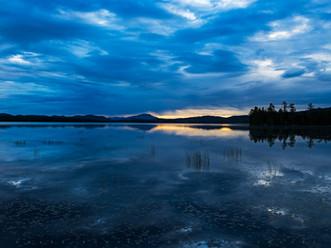 Reflections with Heart, Raquette Lake, Adirondacks, New York
